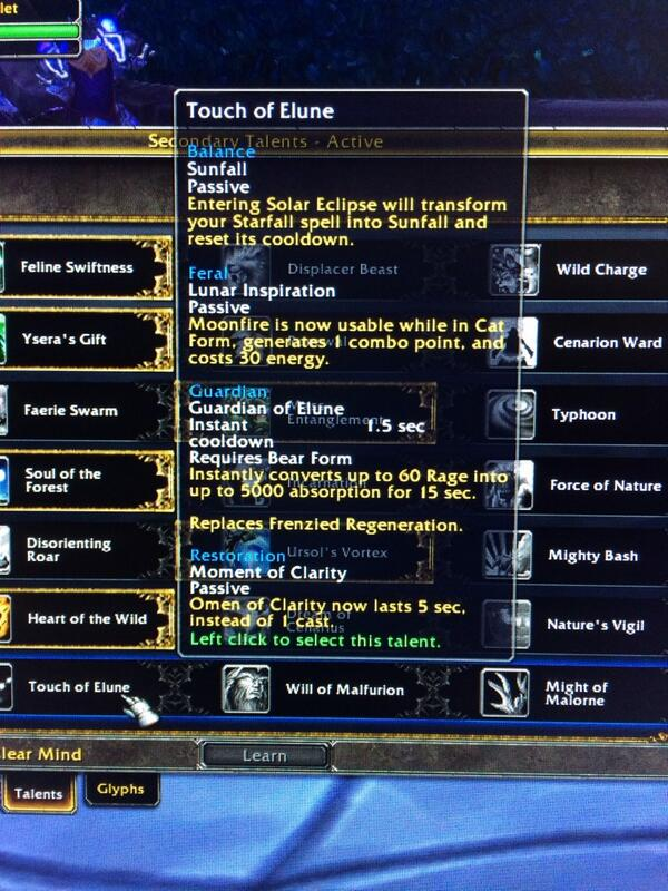 Druids in Warlords of Draenor   OMFG Soup