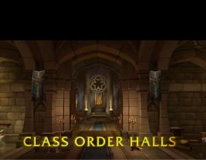 Class Order Halls