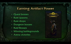 Artifact Power
